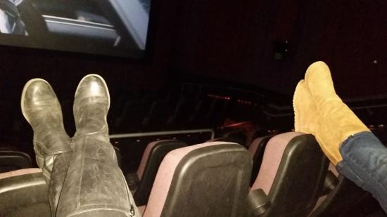 Palladio 16 Cinema: only 2 people there, lovin it