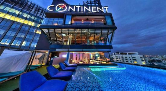 The Continent Hotel Bangkok by Compass Hospitality: top of The Continent Hotel