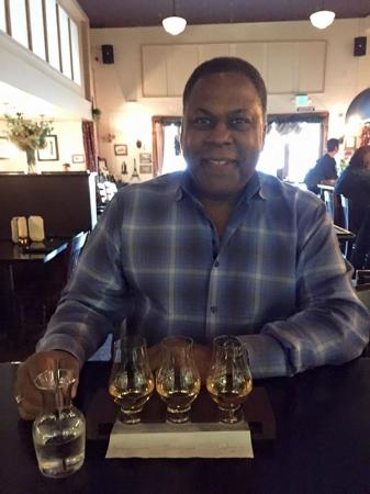 Des Moines, WA: Scotch Flight - we split this and chose the drinks from incredible selection