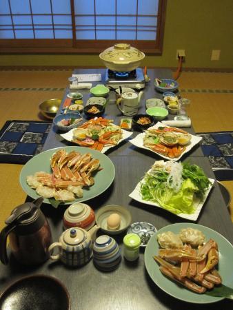 Koemon: 夕食のかに