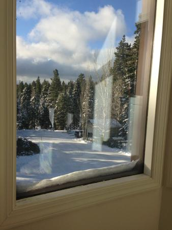 Carnelian Bay, CA: view from the master bedroom closet