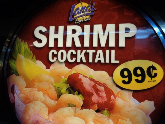 Las Vegas Downtown 99 Cent Shrimp Cocktail At Fremont