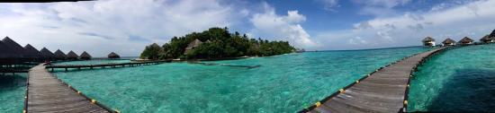 Rannalhi: Superb clear sea