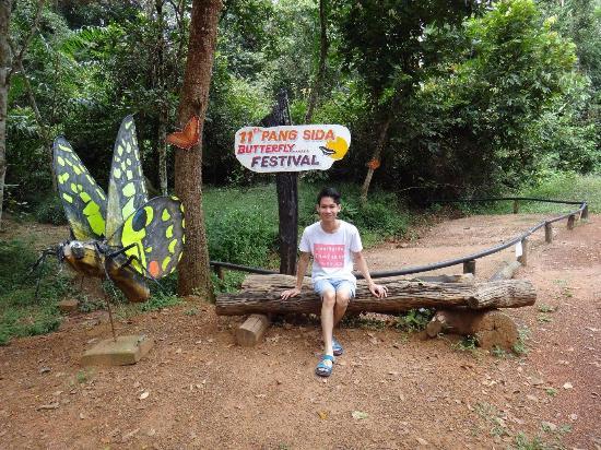 Muang Sakaeo, Thailand: จุดถ่ายภาพกับโป่งผีเสื้อ