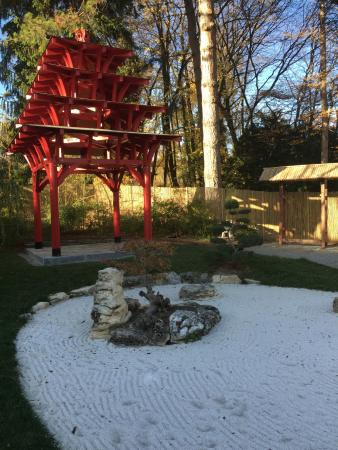 jardin botanique villa le chene the japanese zen garden - Jardin Botanique Geneve
