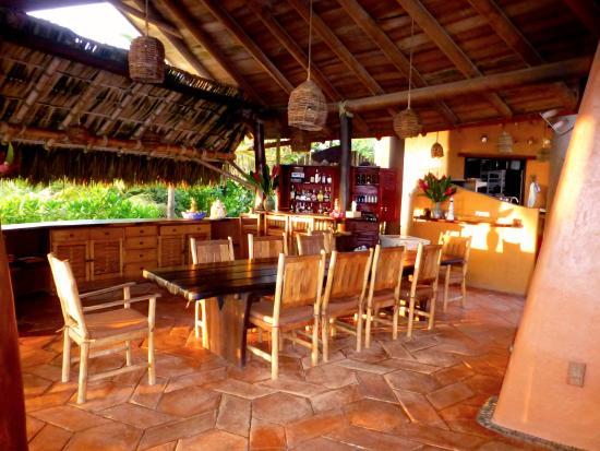 Playa Viva: Dining area (family style)