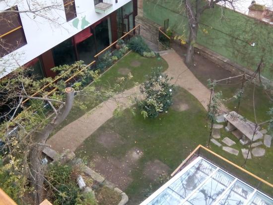 Hotel Spa Ciudad de Astorga: Patio desde la habitación