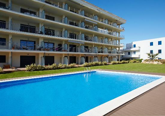 Apartaments terraza rosas espagne voir les tarifs et for Appart hotel rosas