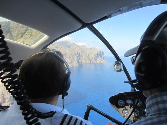Balearic Helicopters : What a view of the coast itself from 1000ft