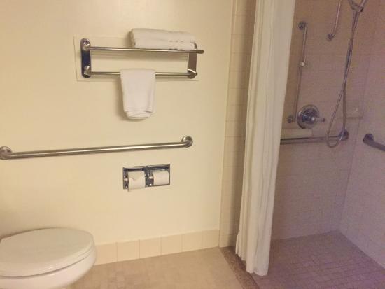 Baño Adaptado Para Discapacitados: San Bruno /SF Intl Arpt West: Baño adaptado para discapacitados