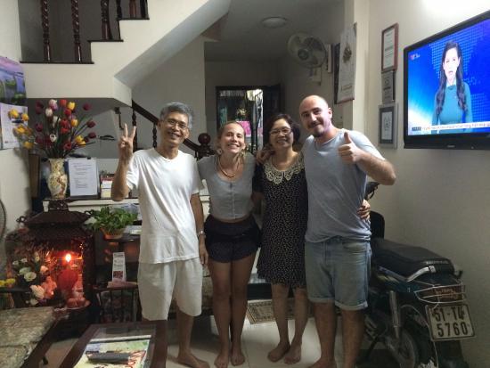 Diep Anh Guesthouse: I meravigliosi proprietari