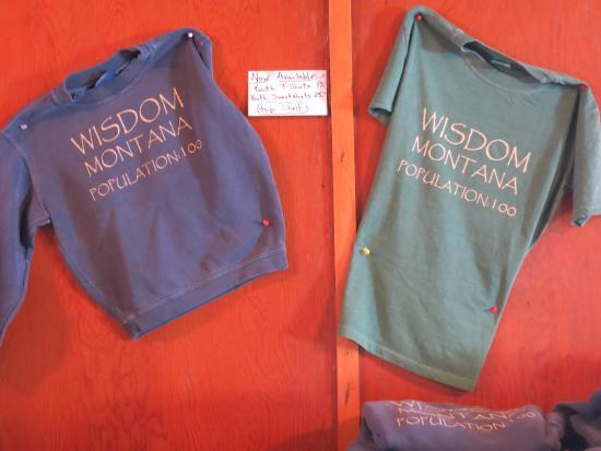 Wisdom, MT: Exactly 100 or?