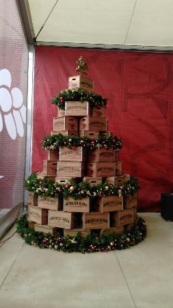 budweiser brewery experience beer box christmas tree - Christmas Tree Box