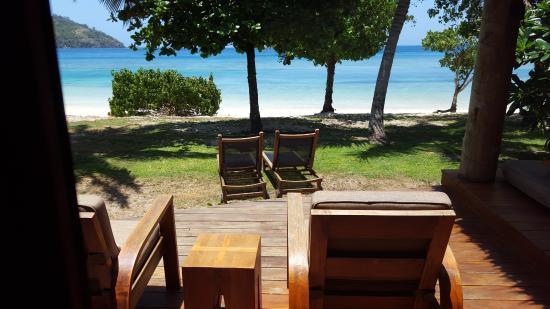 Likuliku Lagoon Resort: beach bure