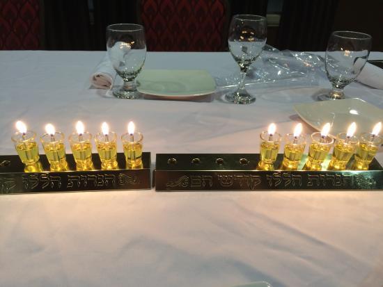 Chanukah at the Bushkill Inn - Picture of Bushkill Inn & Conference