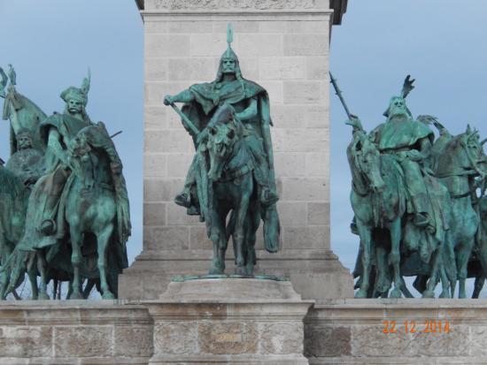 Budapest Plage: Praça