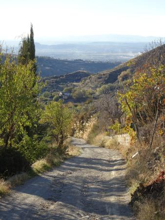 La Almunia del Valle: wegt naar het hotel