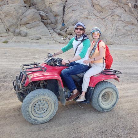 Sinai Voyage: Багги. Само ощущение скорости-да. Шоу бедуинов не советуем!