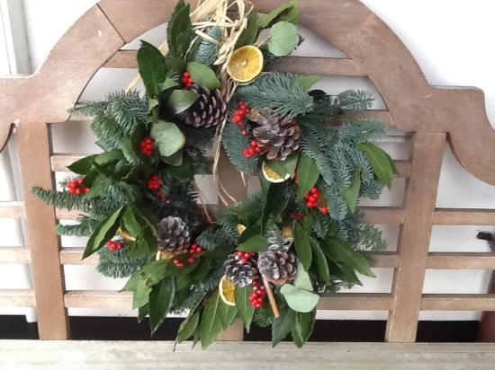 Christmas Wreath making at John's