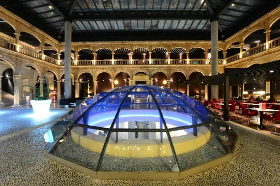 Castilla Termal Burgo de Osma: Cúpula Patio Porticado