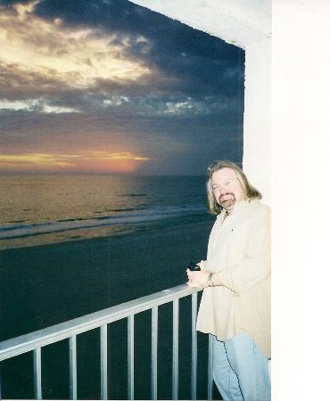 Spanky's Beachside: beautiful sunset