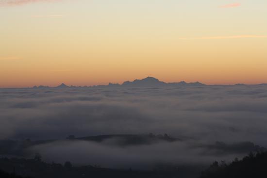 La Combe Chaudaire : Le pointe du Mont Blanc