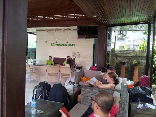 Aonang Buri Resort: Aonang Buri lobby