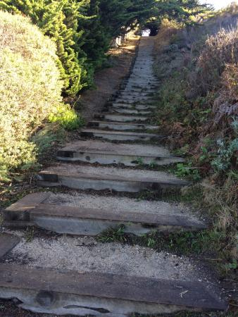 Carmel City Beach/Carmel River Beach: Lots Of Stairs