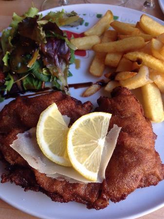 Saint-Paul-Trois-Chateaux, Frankrijk: Notre dejeuner