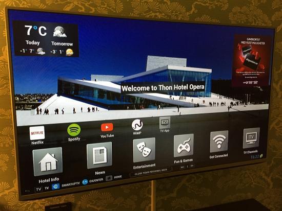Hotel Opera - Smart TV - Picture of Thon Hotel Opera, Oslo - TripAdvisor