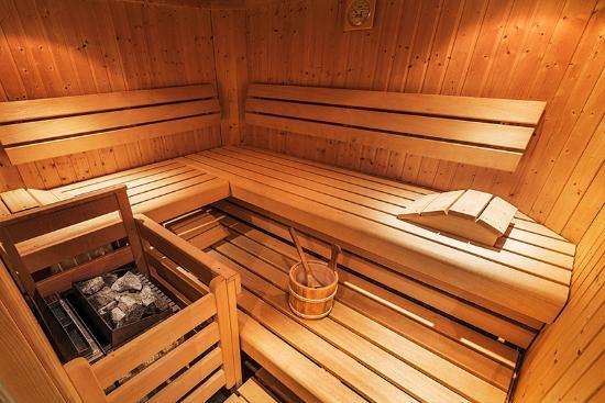 Bauernhof Rindereben: Sauna