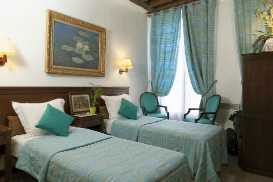 Hotel Bersoly's Saint Germain : Chambre twin