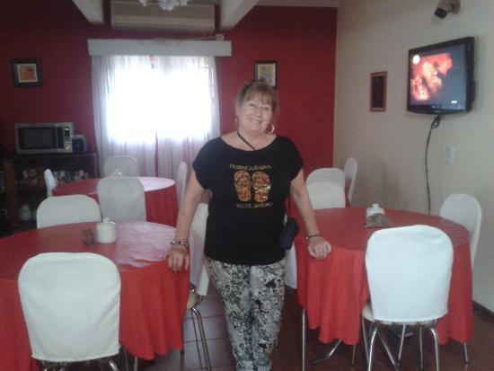 Hosteria Casa Blanca Iguazu: Living