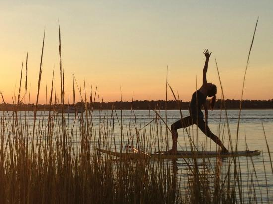 Wrightsville SUP: Stand Up Paddle Yoga