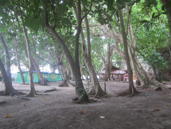 Trang Province, Tayland: Camping grounds