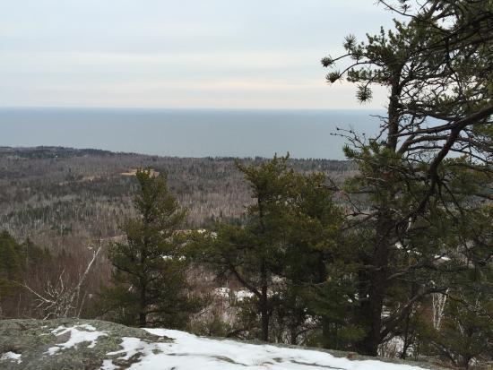 Tofte, MN: Carlton Peak Summit