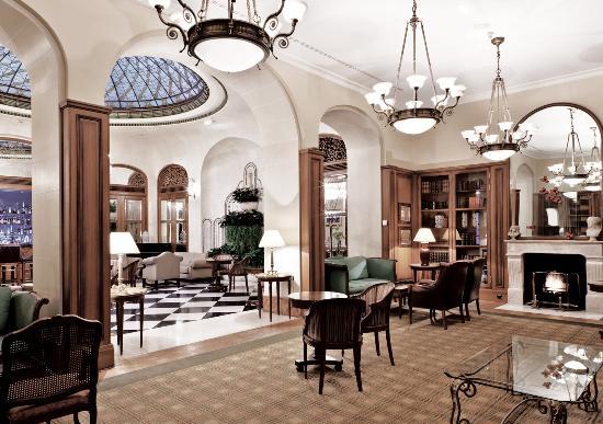 lobby lounge picture of millennium hotel paris opera paris tripadvisor. Black Bedroom Furniture Sets. Home Design Ideas