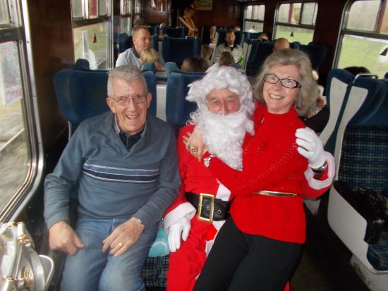Peak Rail: Santa's Steam Train Special