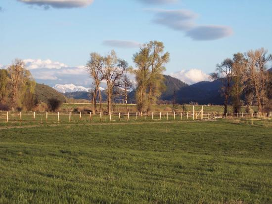 Swan Valley, ID: plenty of open space around the ranch for hiking or riding your mountain bike