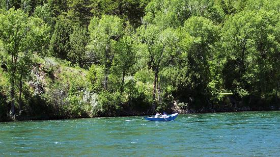 Swan Valley, ID: a float on the South Fork always is enjoyable