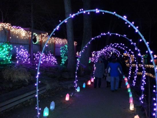 rotary botanical gardens - Holiday Light Show Rotary Botanical Gardens December 22