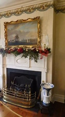 Morristown, Nueva Jersey: Ding Room Fireplace