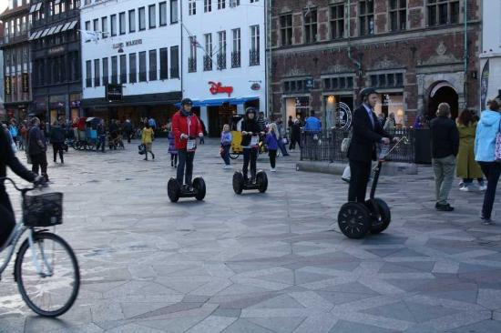 Go-Segway : Strt of the tour