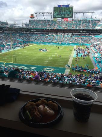 Dolphins Ravens Play Picture Of Dolphin Stadium Miami