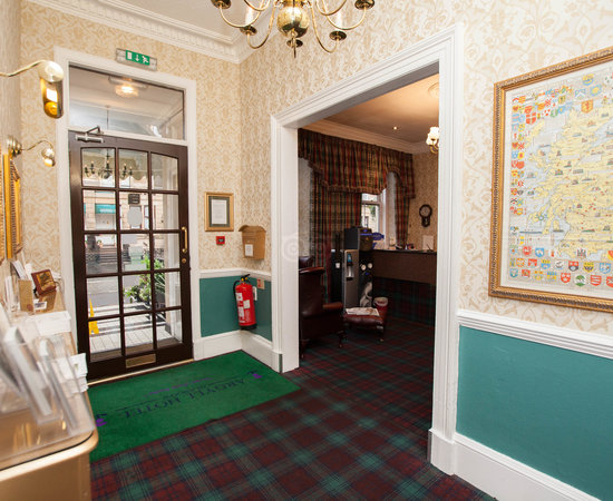 Entrance at the Argyll Hotel