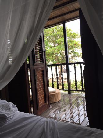 Charlestown, Canouan: view from bed