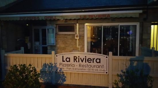 Le Faouet, Fransa: Pizzeria Resto-Grill la Riviera