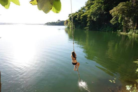 The Rope Swing Picture Of Jorges Rope Swing Flores Tripadvisor