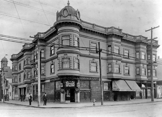 Stanyan Park Hotel: Historical picture of the hotel circa 1910