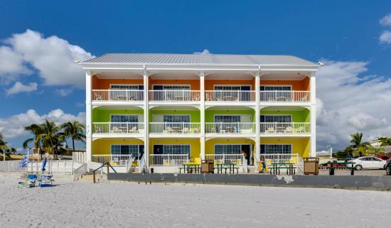Pierview Hotel Suites Is Beachfront To Ft Myers Beach